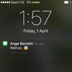 Angela Barnett Text April 1st