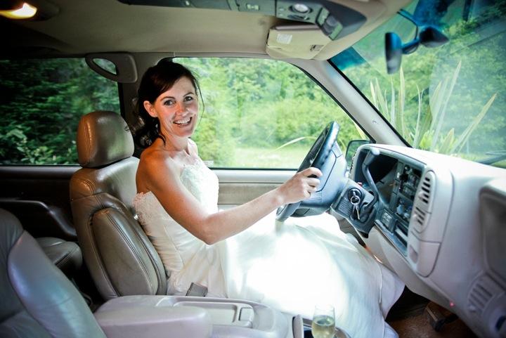 Angela Barnett Wedding Car